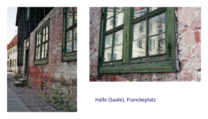 Halle Saale, Franckeplatz, m-harder-art, michi-h-art